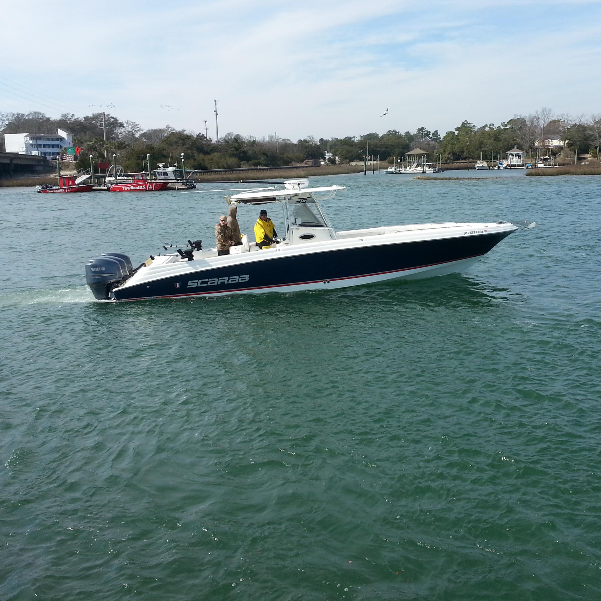 Scarab's Boat